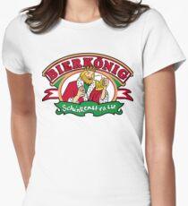 Bierkönig Back Print Women's Fitted T-Shirt