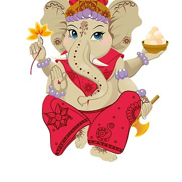 Ganesha T-Shirt by amorhka