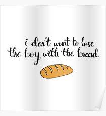 Peeta The Bread Boy Poster