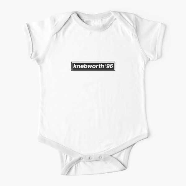 Knebworth '96 - OASIS Band Tribute Short Sleeve Baby One-Piece