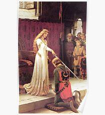 Guinevere schafft einen Ritter Poster