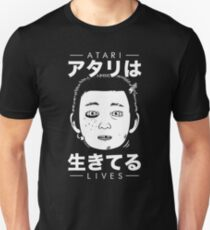 Atari Lives (black) Slim Fit T-Shirt