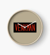 Pete Venkman Name Tag Clock