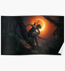 Shadow of the Tomb Raider. Poster