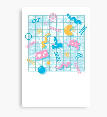 AESTHETIC GAMER Canvas Print
