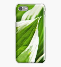 Green Leaves Abstract iPhone Case/Skin