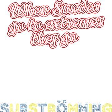 Surströmming T-shirt by Spassprediger