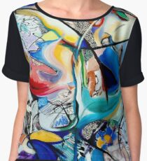 Intimate Glimpses, Journey of Life Chiffon Top