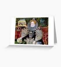 Königin Elizabeth I. Grußkarte