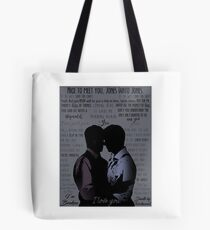 Janto - Quotes Tote Bag
