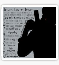 Ianto - quotes Sticker