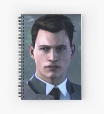 Connor (Detroit: Become Human) Spiral Notebook