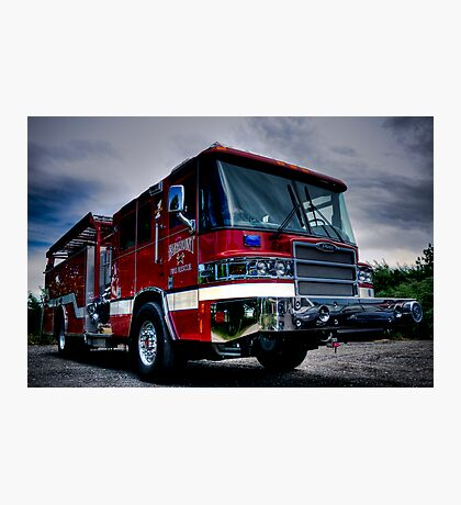 Fairmount Fire Dept. Photographic Print
