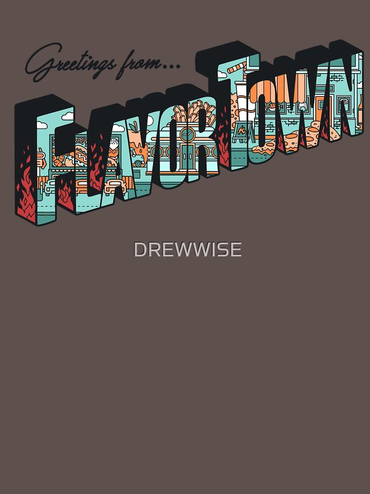 FLAVORTOWN by DREWWISE