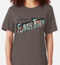 FLAVORTOWN Slim Fit T-Shirt