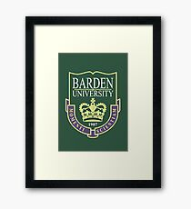 Barden University Framed Print
