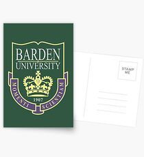 Barden University Postcards