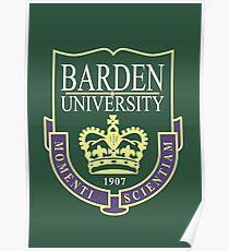 Barden University Poster