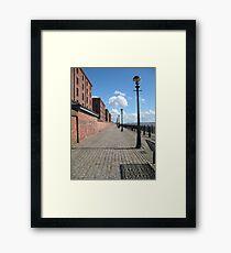 Sunny walk Framed Print