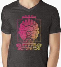 MAD OVERSEER Men's V-Neck T-Shirt