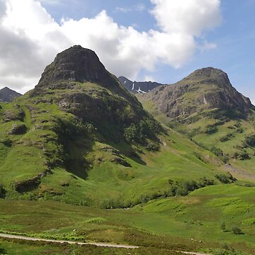 Glencoe, the Highlands , Scotland by goldyart