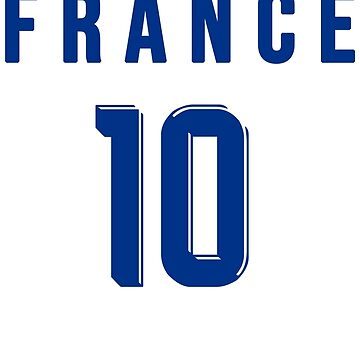 France World Cup 2018 T-shirt - Issue 10 Blue by Lolamaxstore