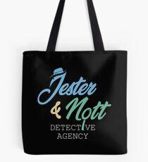 Jester & Nott Detective Agency - Kritische Rolle Tote Bag