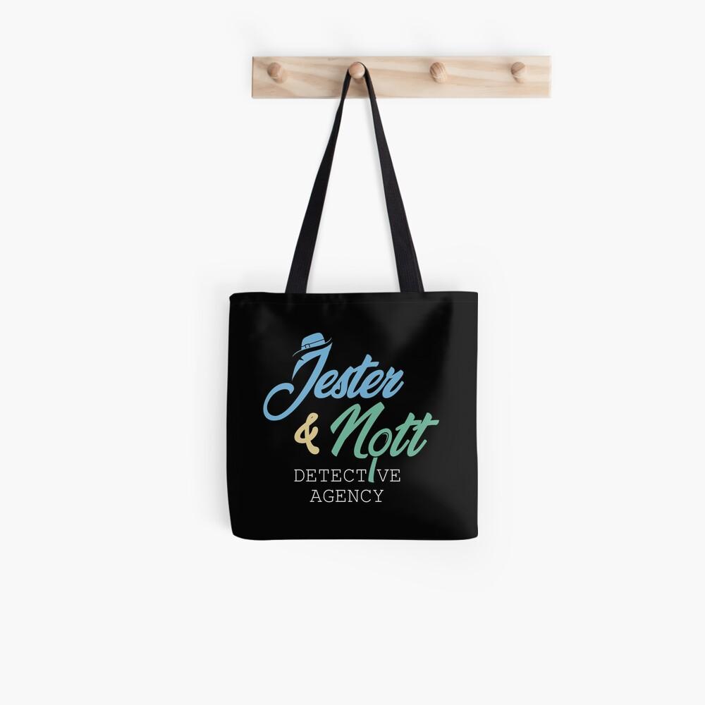 Jester & Nott Detective Agency - Kritische Rolle Stofftasche
