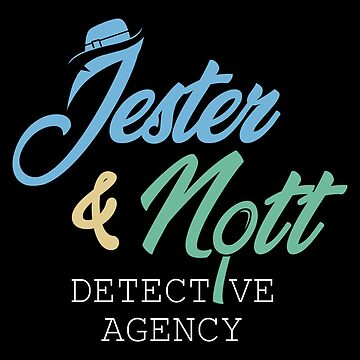 Jester & Nott Detective Agency - Critical Role by allmyinhibition