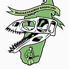 Masiakasaurus knopfleri by David Orr