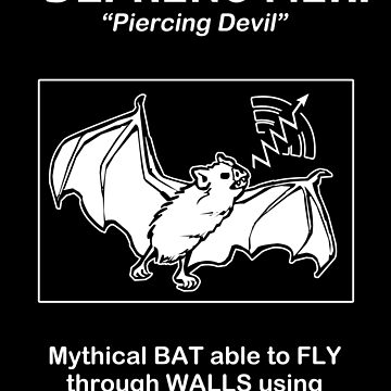 Deprong Mori -- Mythical Bat Able to Fly Through Walls Using X-rays by oddmetersam