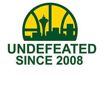 UNDEFEATED SINCE 2008 FUNNY SHIRT by Parispride