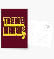 Treblemakers Postcards