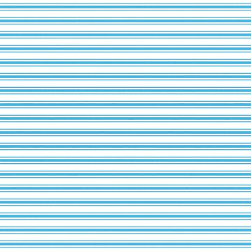 Oktoberfest Bavarian Blue and White Large Mattress Ticking Stripes by podartist