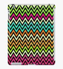 Chevron Mix #6 - Colourful Pattern iPad Case/Skin