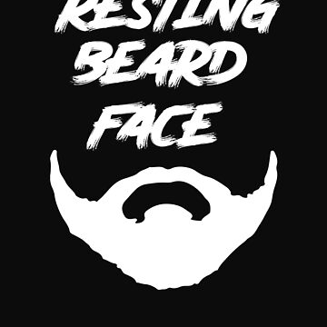 Resting Beard Face by BeardedAnchor