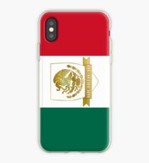 Gold Michoacan Mexico Crest  iPhone Case