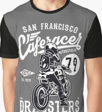 Cafe Racer Dragsters Graphic T-Shirt