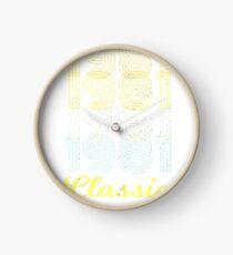 Born in 1981 vintage Clock