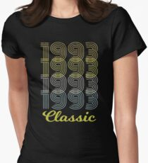 Born in 1993 Vintage Women's Fitted T-Shirt