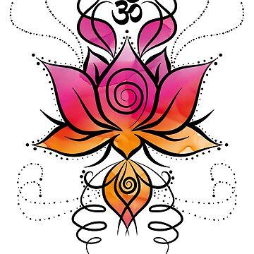 Lotus Om by amorhka