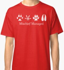 Mischief Managed Classic T-Shirt