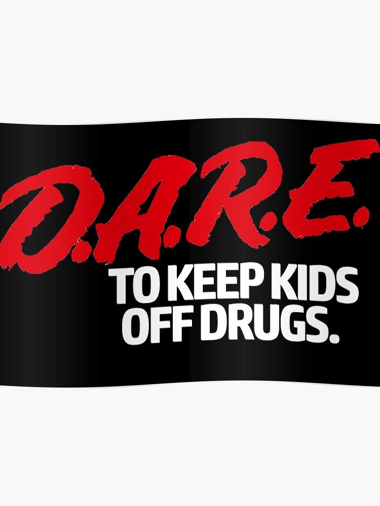 ed752d04 Dare Shirt - D.A.R.E. (Dare) Vintage 90's Logo Shirt