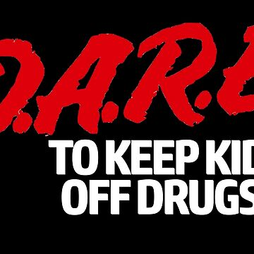 D.A.R.E. (Dare) Vintage 90's Logo Shirt by WishingInkwell