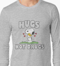 Hugs Not Drugs. Long Sleeve T-Shirt