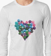 I <3 Polyhedrals Long Sleeve T-Shirt