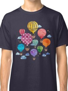 Hot Air Balloon Night Classic T-Shirt