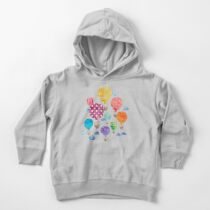 Hot Air Balloon Night Toddler Pullover Hoodie