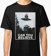 Camiseta clásica ¿Puedes creer?