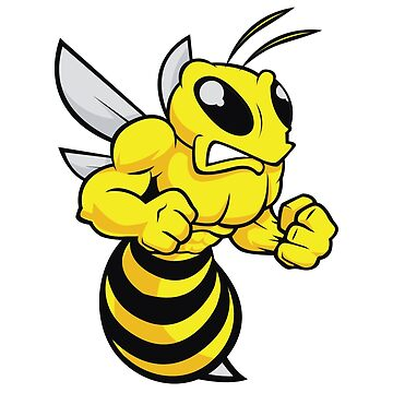 BEE BUMBLEBEE ANGRY HORNET WASP by MyHandmadeSigns